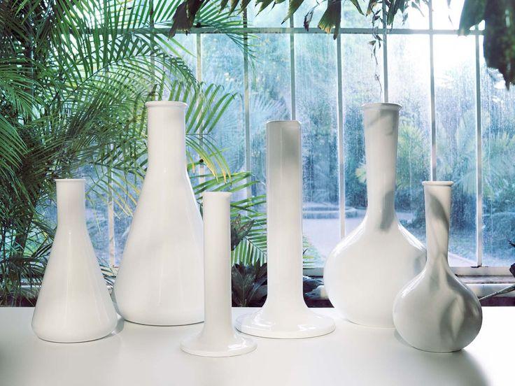 Chemist Tubes collection, indoor/outdoor vases