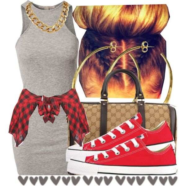 A fashion look from August 2014 featuring NLY Trend dresses, Forever 21 tops and Converse sneakers. Browse and shop related looks.