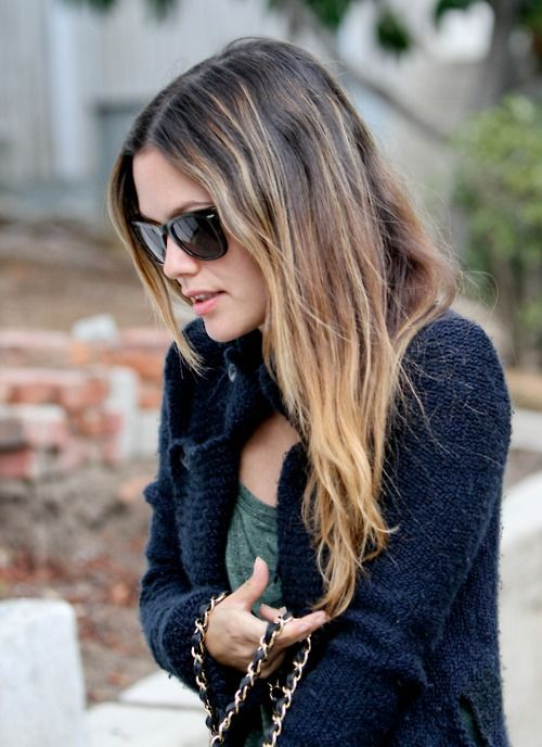 Ombre ala Rachel Bilson the queen of Ombre and one of the first to bring this hair trend into the light...pun intended!! lol!