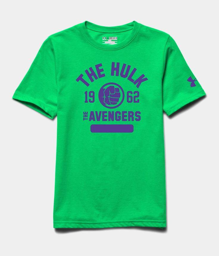 Boys 39 under armour alter ego banner 62 t shirt under for Hulk under armour compression shirt
