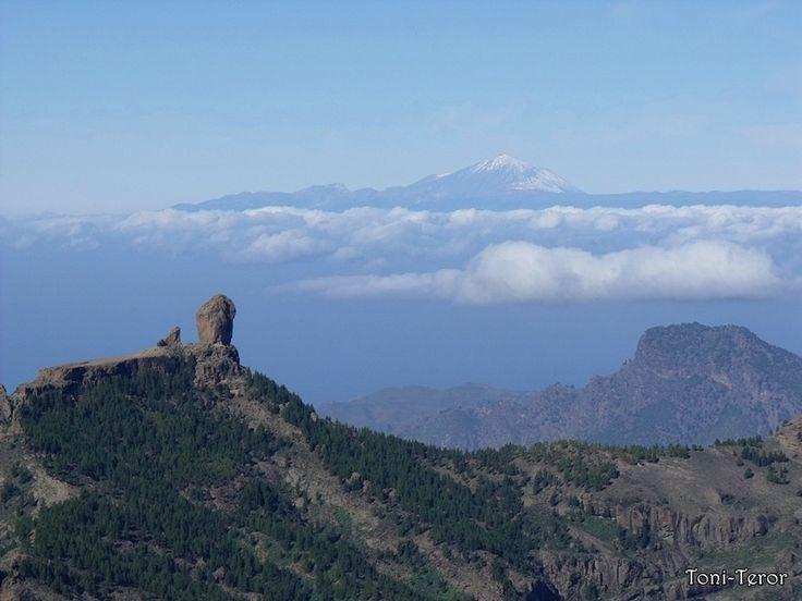 El Teide y El Roque Nublo