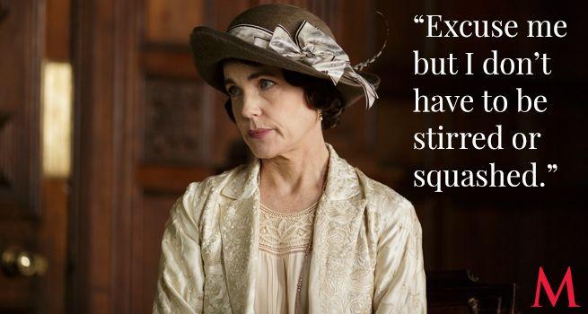 Downton Abbey Season 6 Episode 2 Best Quotes ..Elizabeth McGovern as Cora ..