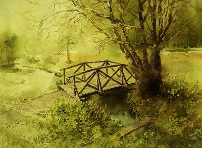 The bridge by Roald Grimsø