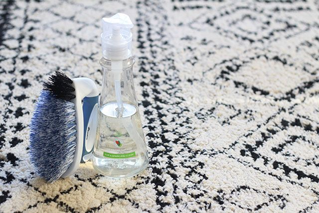 Cheapest rug-cleaning option - and totally doable