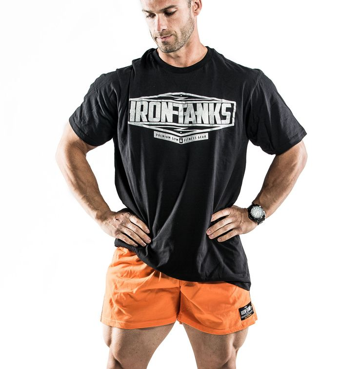 Our 'Big Rig' tees now back in pitch black & grey marle. Lightweight cotton construction and relaxed fit - every lifters dream. Features our nu-era logo design. NB: Quads sold separately. Only available at irontanksgymgear.com - shop the range! Built #Iron Tough