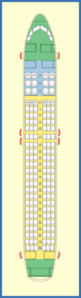 97 best images about Aircraft seat maps on Pinterest ...