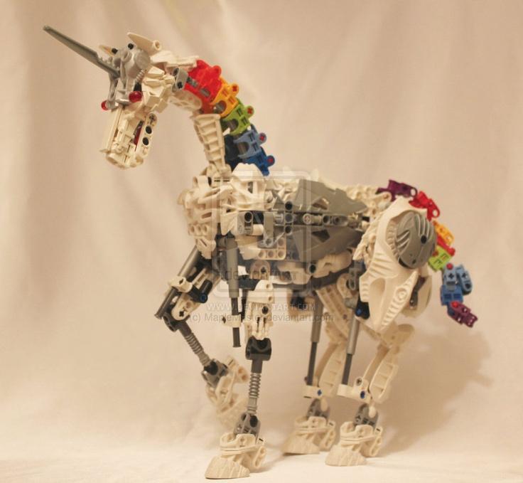 Lego Bionicle Moc Robot Unicorn