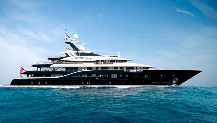 The 278-foot-long Solandge that was built by the Lurssen shipyard and launched in 2013 is the largest yacht that will be at the Monaco Yacht Show this year. This striking yacht with the exterior designed by Espen Oeino and the interior designed by Aileen Rodriguez, offers true luxury on six extraordinary decks and is intended to be a home-away-from-home on the high seas.
