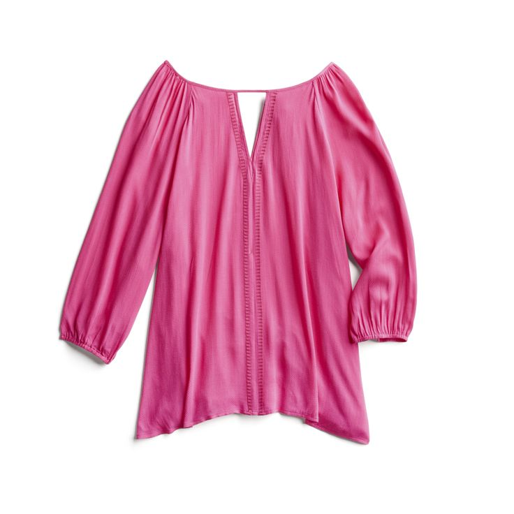 Spring Stylist Picks: Hot pink boho top
