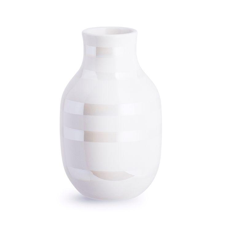 Omaggio+Vase+Small,+Perlemor,+Kähler