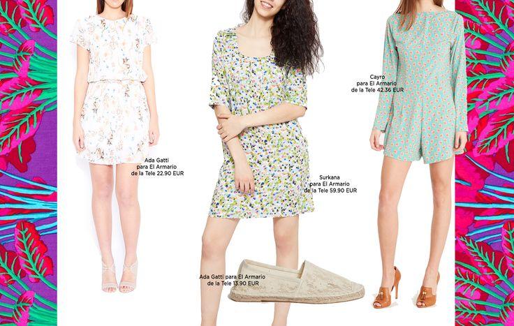 Vestidos y monos cortos de estiilo naïf y alpargatas. Descubre los imprescindibles en tu maleta de verano en nuestra tienda online.