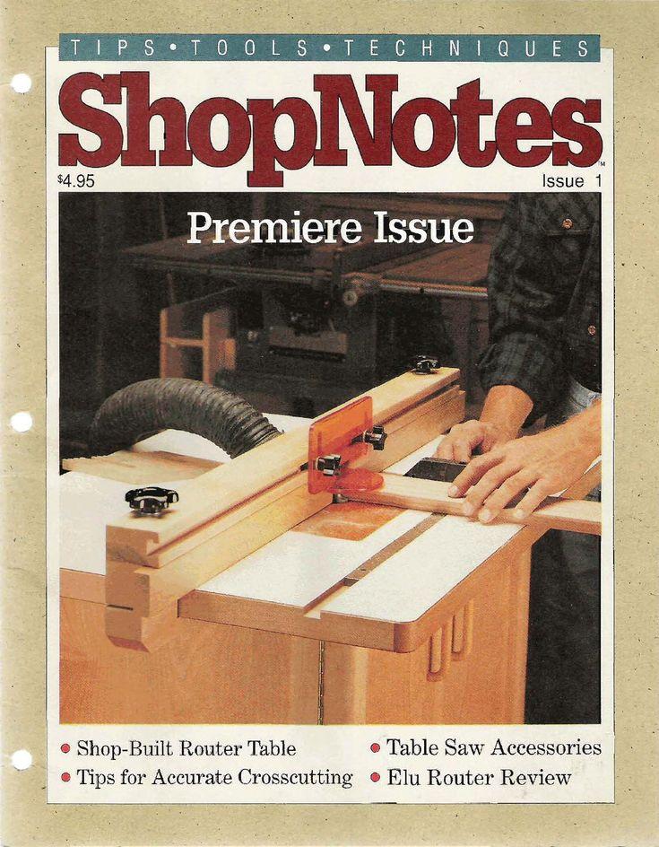 Shopnotes issue 01 Magazine Shopnotes