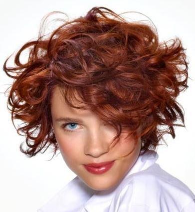 Ondulées Idées coiffure courte 2013