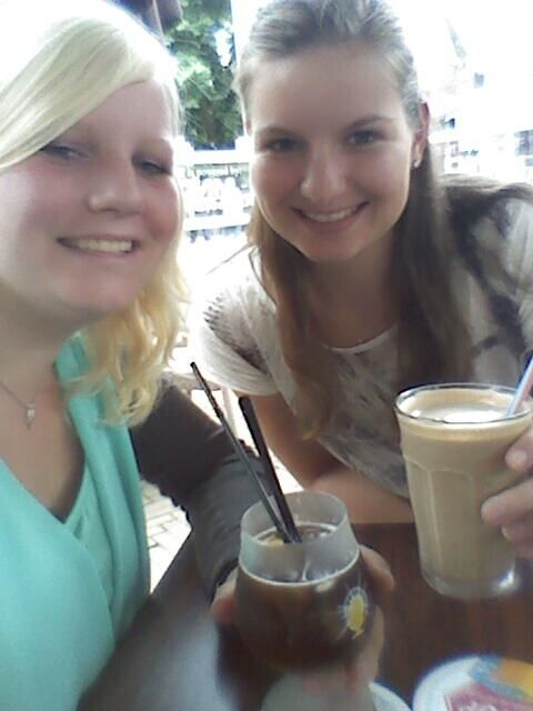 Ice coffee Bij fred en douwe