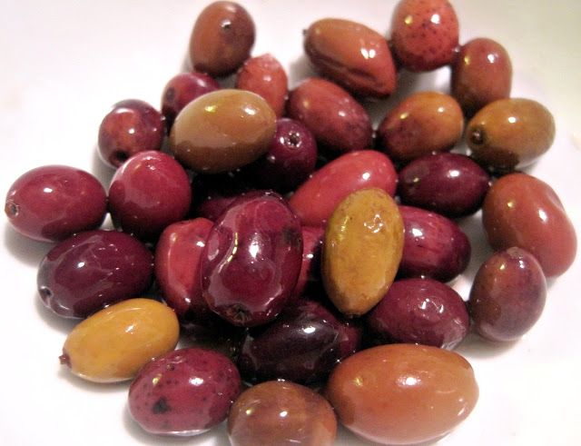 I grew up eating pimento stuffed olives (which I haven't touched in forever) and then I discovered black olives as a topping for sandwiches or pizza and fell in love. Now I'm venturing out into other kinds of olives from other countries and discovering the different flavors and textures. I love putting them in Greek salads.