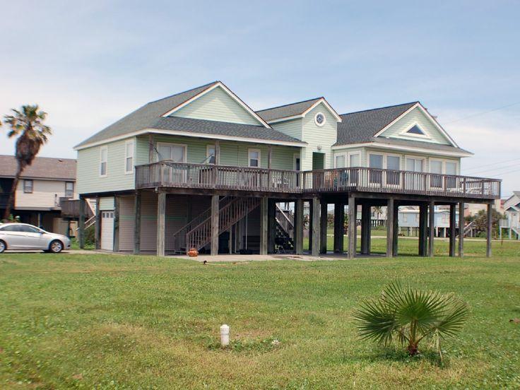 cheap beach houses in galveston  g home, Beach House/
