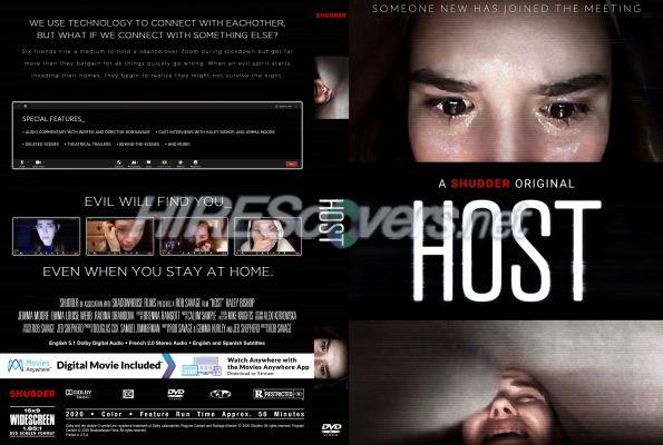 Host 2020 Custom Dvd Cover Custom Dvd Dvd Covers Dvd Label