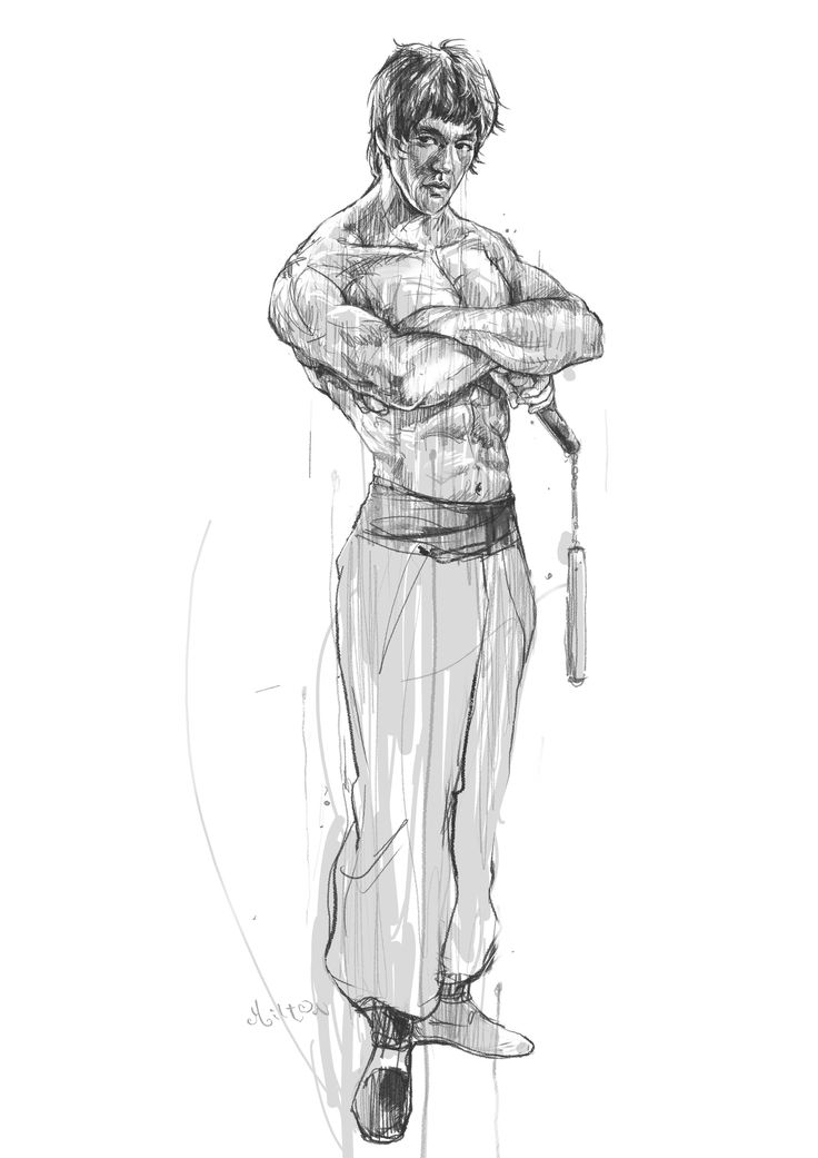 Bruce Lee fan art