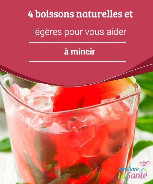 4 #boissons naturelles et légères pour vous aider à #mincir   Nous allons vous proposer des boissons pour l'été aussi bien que pour l'hiver, mais qui ont la particularité d'être #légères, #naturelles, et qui vous permettront de perdre du #poids de manière très saine.