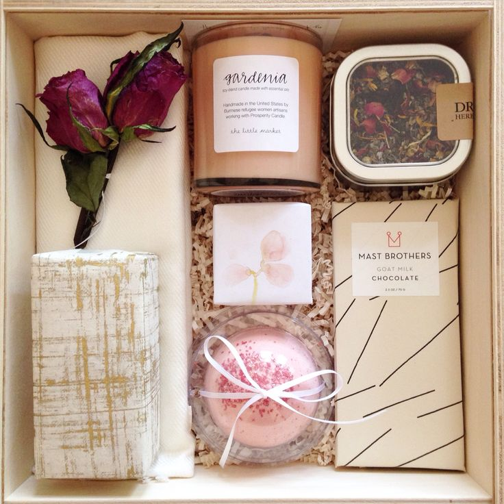Custom bridesmaid gift by Teak & Twine