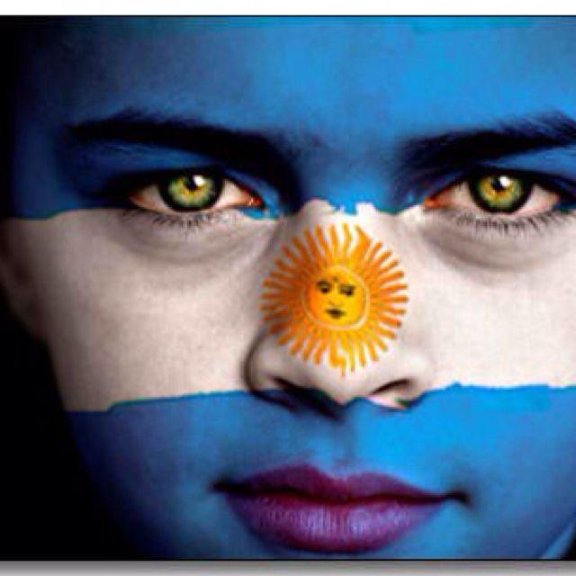 Argentina Flag Boy