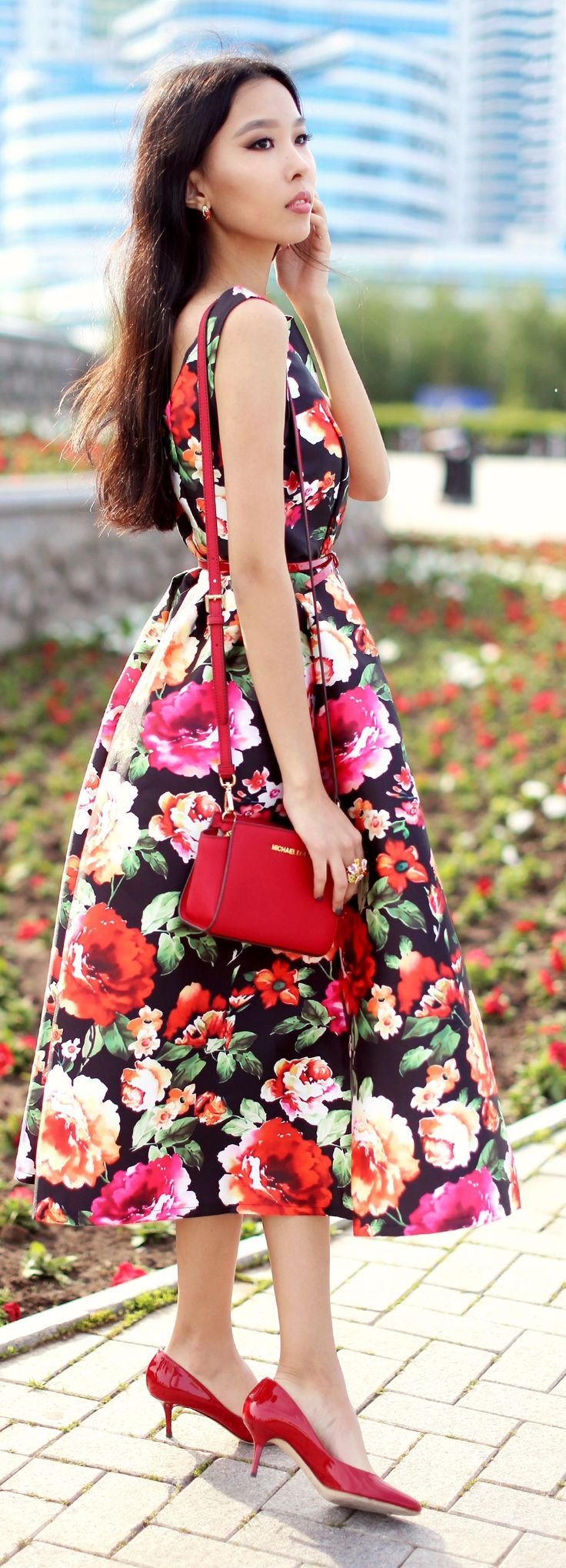 JW ASSEMBLY | #jw #jwfashion #jw_modest_fashion | Floral Dress Summer Style