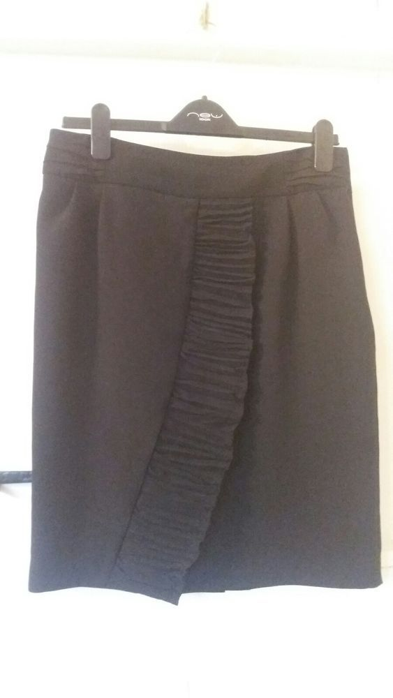 186010fcb NEXT size 12 Knee Length Black Skirt #fashion #clothes #shoes #accessories #