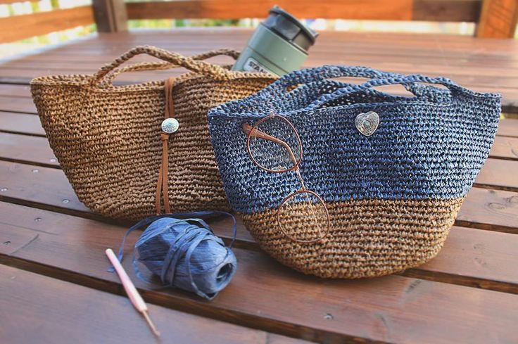 目次1 ペーパーヤーンでバッグを作ろう♪2 ショルダータイプもおすすめ♪3 参考にしたい作り方☆4 夏用ポーチ♪5 夏用ハンドバッグ♪6 お好みのサイズで♪7 お好みのデザインで♪    ペーパーヤーンでバッグを作ろう♪ #ペーパーヤーンバ...