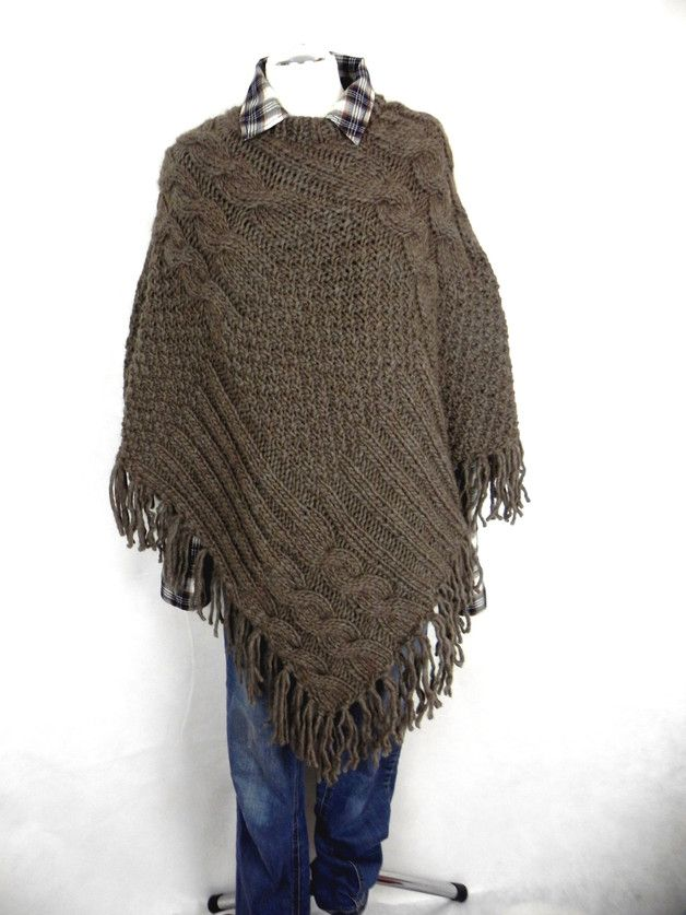 19 best Sylvis Handknitted Ponchos images on Pinterest | Ponchos ...