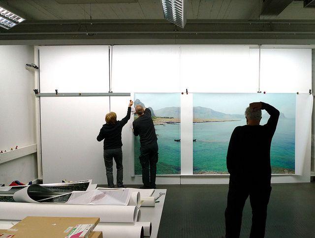 With Massimo Vitali at Grieger Lab, Düsseldorf   Flickr – Condivisione di foto!
