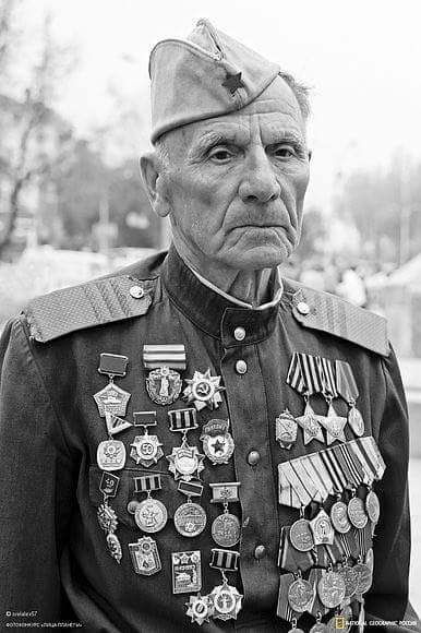 One of the USSR Heroes and one of the crew of a Soviet Destroyer Flotilla.