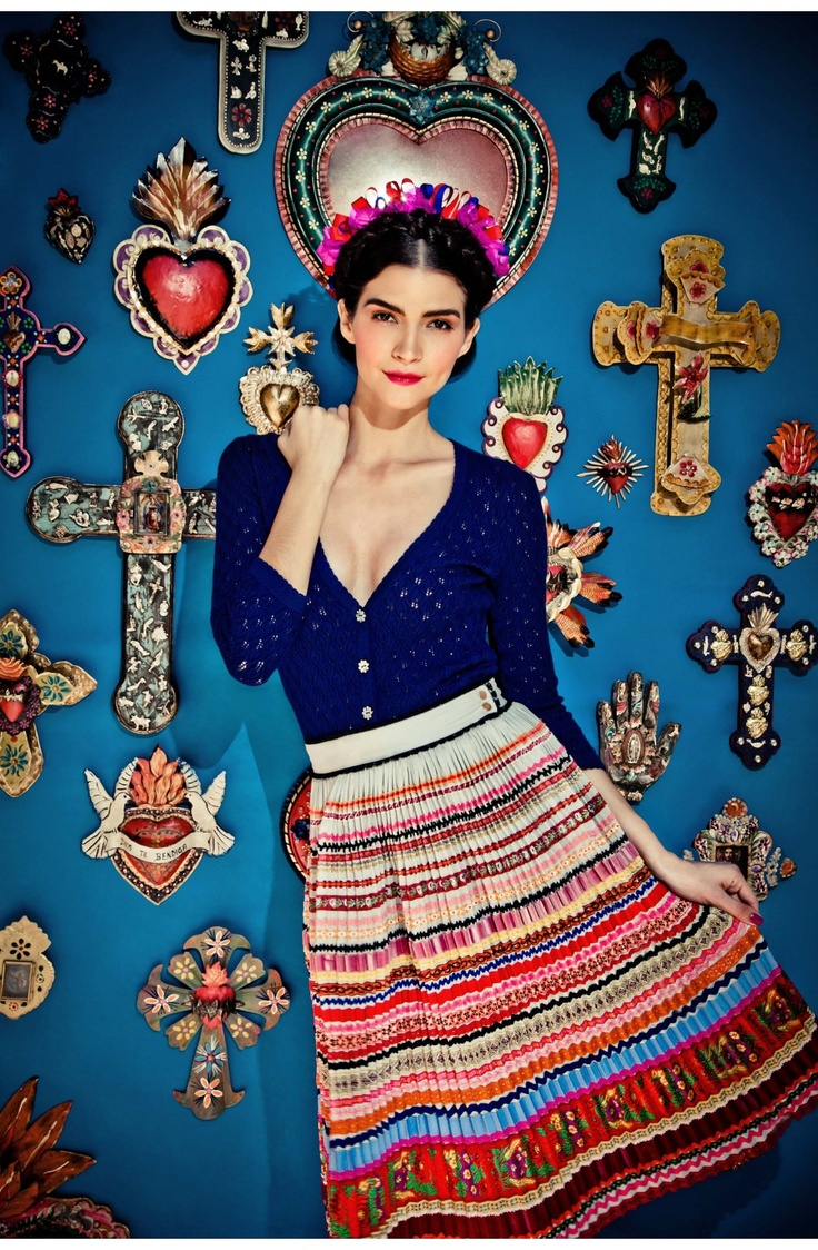 Frida inspired style / Lena Hoschek