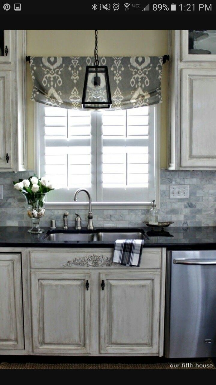 Kitchen window roman blinds   best kitchen images on pinterest  kitchen windows roman shades