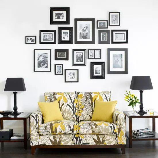 Porta retrato, parede de quadros, decoration, house
