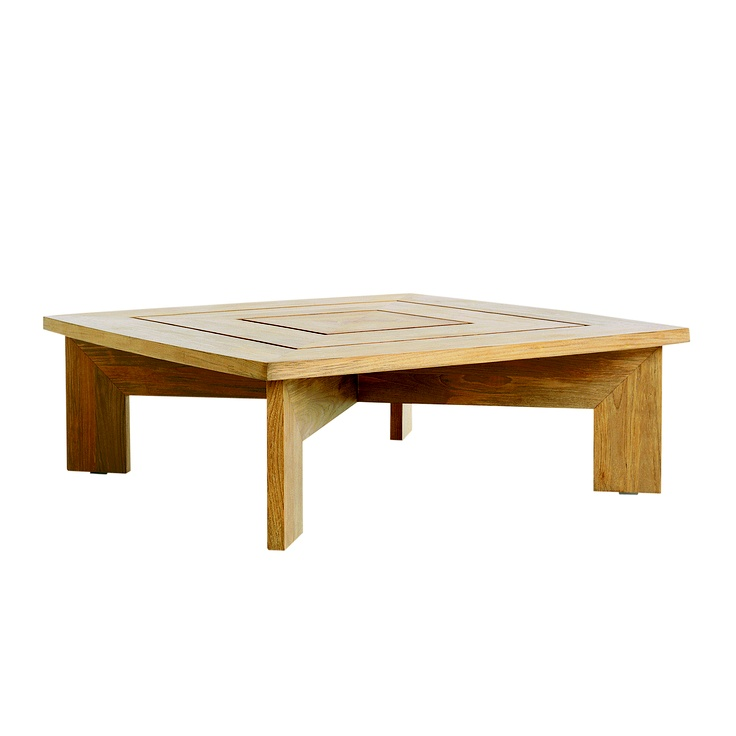 Summit X Square Coffee Table