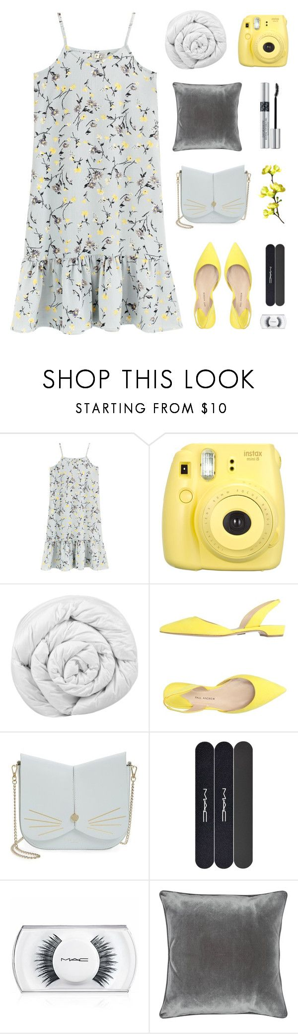 """Flowers"" by dianakhuzatyan ❤ liked on Polyvore featuring Fujifilm, Brinkhaus, Paul Andrew, Ted Baker, MAC Cosmetics, M&Co and Christian Dior"
