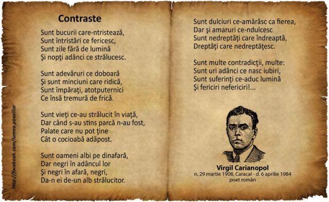 Contraste - Virgil Carianopol