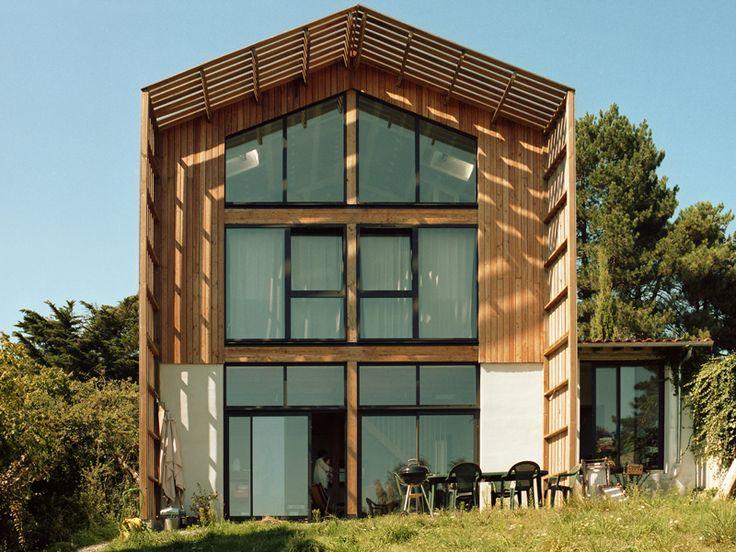 39 best images about maison cologique passive on - Les plus belles maisons en bois ...