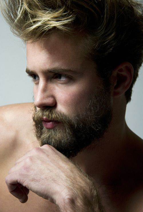 Tom Bull. Love the blond beard and mustache. R