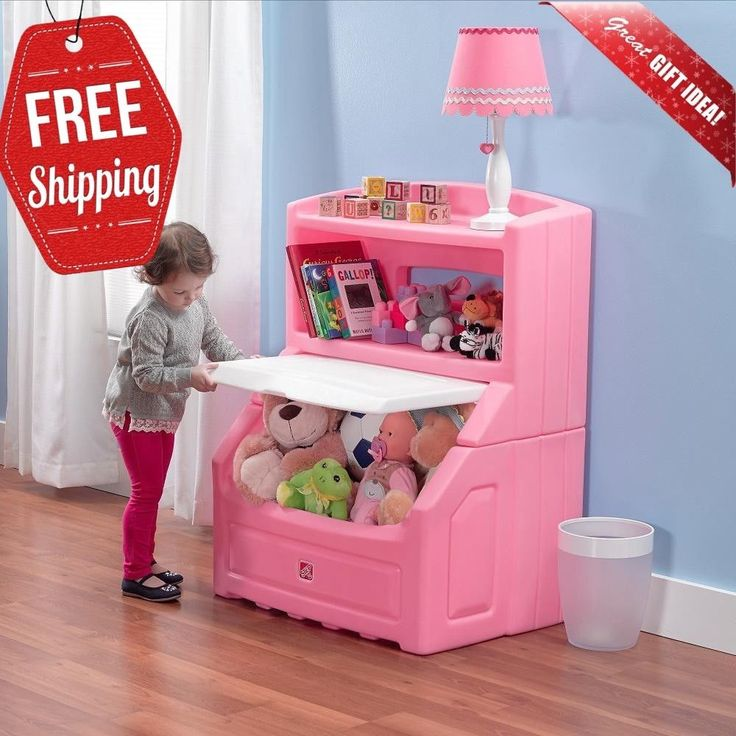 The Step2 Lift And Hide Bookcase Storage Chest Are The Ideal 2 In 1 Toy Box And Habitaciones