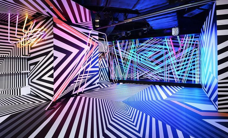 Enter the 'Razzle Dazzle' World of MCM Hong Kong, the dynamic Tobias Rehberger-designed MCM store operating as a satellite exhibition space during Hong Kong's Art Basel