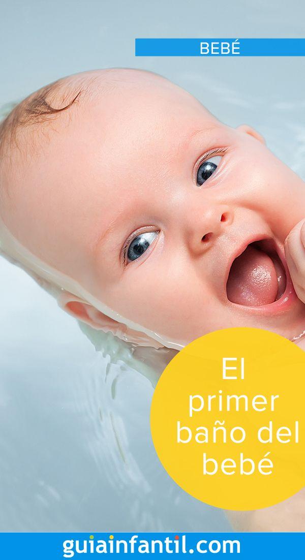 Consejos Para Banar A Tu Bebe Bano Del Recien Nacido Bebe