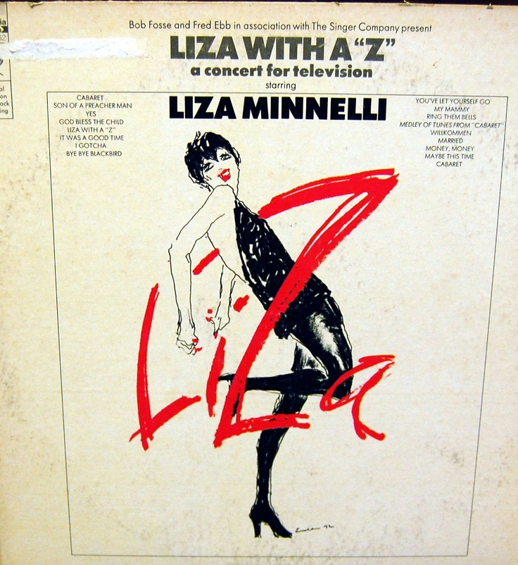 "Liza With a ""Z"" Liza Minnelli 