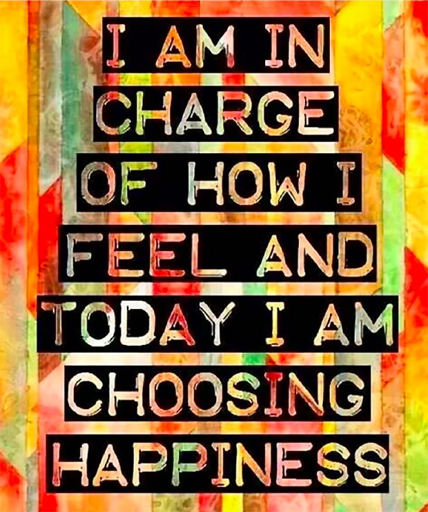 Positive Affirmation: Today I Am Choosing Happiness
