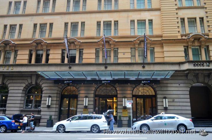 Wheelchair Accessible Hotel Radisson Blu Sydney