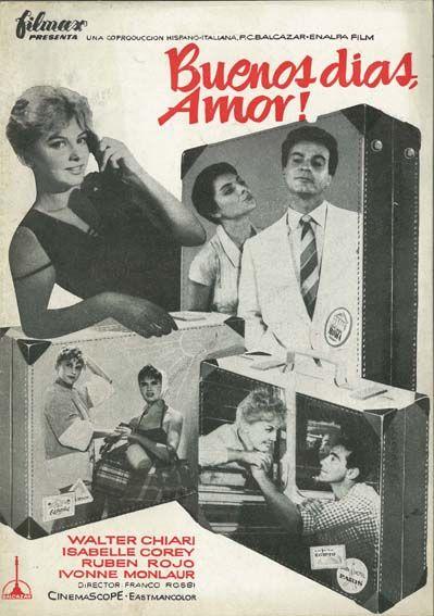 """Buenos días, amor (1958) """"Amore a prima vista"""" de Franco Rossi - tt0051351"""