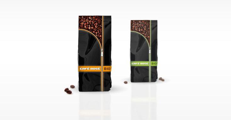 Café Rosé | k2o Creative Studio #csomagolástervezés #packagedesign  #package #csomagolás