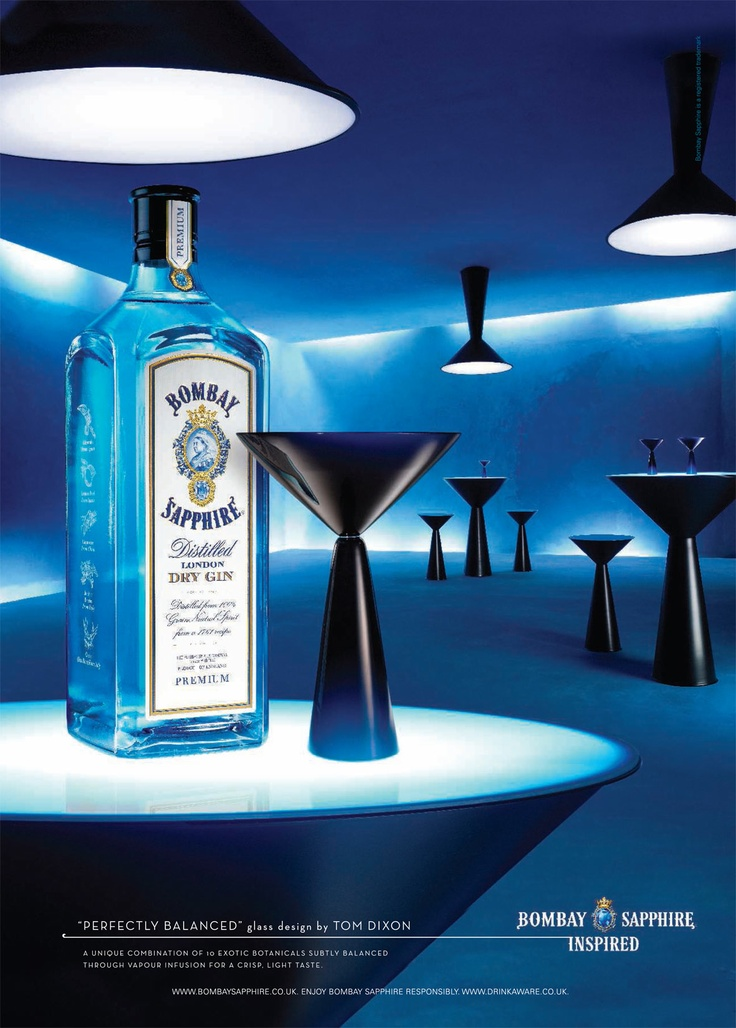 """Perfectly balanced"" - Tom Dixon (Bombay Sapphire Inspired)"