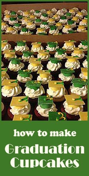 How to make Graduation Cupcakes