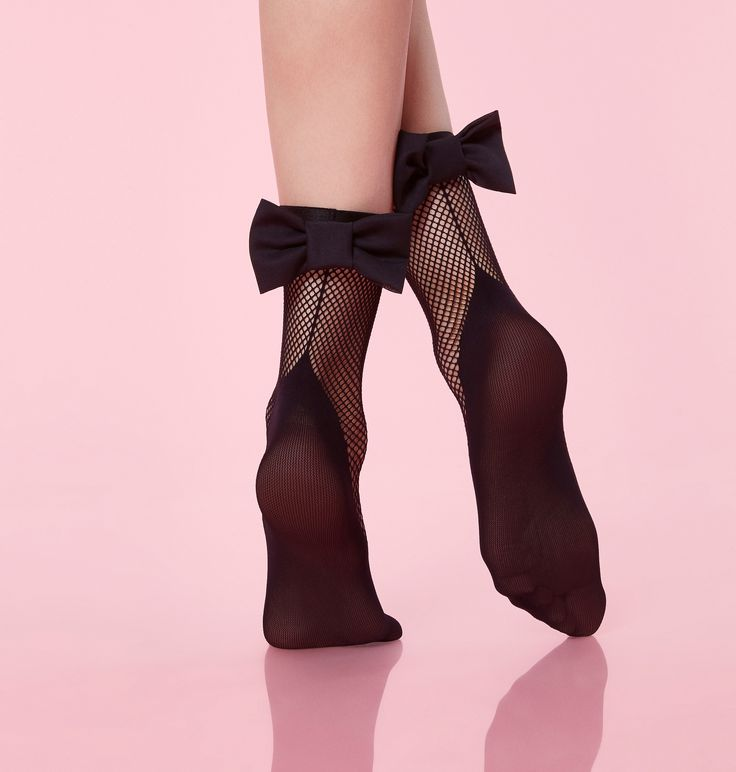 Socquettes Résille Charleston #ChantalThomass #lingerie #mode #fashion